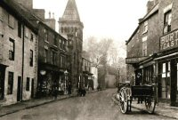 Church Street Alfreton early 1900s