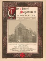 The Cover of the Somercotes church Magazine January 1937