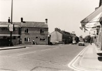 Somercotes Beastall's Corner the Junction of Nottingham Road & High Street circa 1970s.