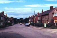 A view of Sleetmoor Lane, taken in 1970 by Jim Marsh