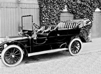 One of the Oakes Family cars an Armstrong Siddley at Riddings House