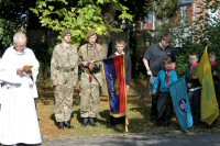 The War Memorial Service 2014 attending were the Somercotes Scouts and Guides, and Alfreton Army Cadet Force 2014.