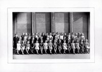 SOmercotes School Photograph of Pupils and Teacher 1940s
