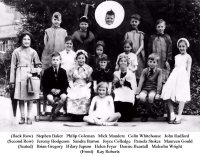 Somercotes Junior School Play circa 1958
