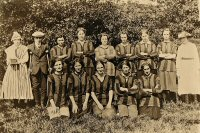 Somercotes Ladies Football Club date not known possibly circa 1920.