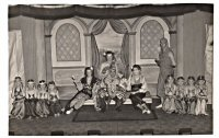 A play at Somercotes possibly, The Diocesan Players of St. Thomas Church date around the 1940's.
