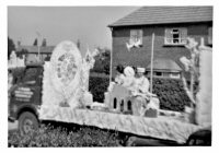 Somercotes Carnival Float on Windmill Rise near the junction of Somercotes Hill in the 1960's.