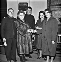 Somercotes Salvation Army gift day 11th December 1967.