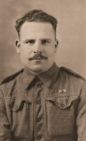 Somercotes Soldier Harry Walker photograph 1943-44.
