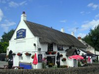 The Moulders Arms, Riddigs also known as the Thack due to its thatched roof.